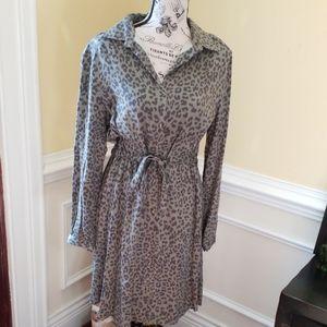 C&C California Leopard Print Dress